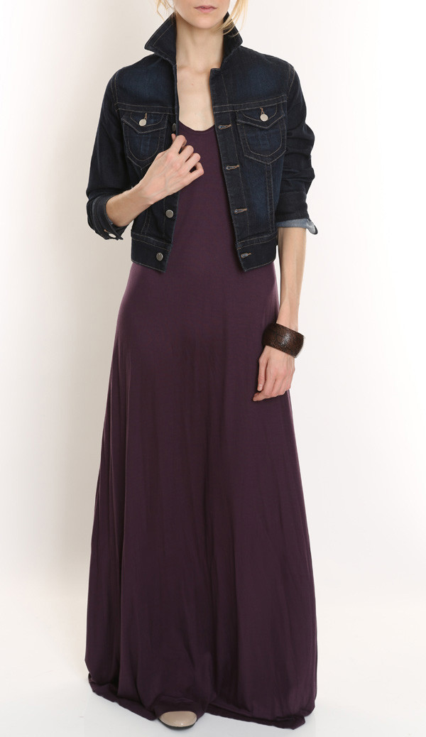 Racer Back Maxi Dress